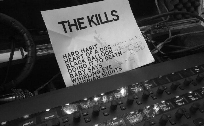 Kills-setlist
